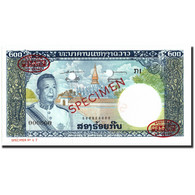 Billet, Lao, 200 Kip, 1963, 1963, Specimen TDLR, KM:13s2, NEUF - Laos