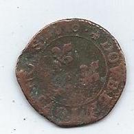 Monnaie France Double Tournois 1610 Henri IV Louis XIII - 987-1789 Monnaies Royales