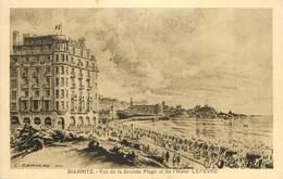 "CPA FRANCE 64 ""Biarritz, Hotel Lefevre"" - Biarritz"