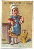 CHROMO AUX CINQ PARTIES DU MONDE BORDEAUX - A PARISSET Confections - FLANDRE - BARA** -- - Other