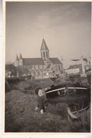 Village - Péniche - à Situer - Te Situeren - Photo Orifinale Format 5.5 X 9 Cm - Lieux