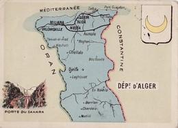 Chromos - Bon Point Lecture - Sans Publicité - Département D'Alger (Algérie) - Librairie A. Jeandé à Paris - Chromos