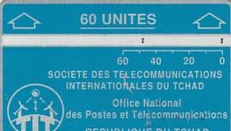 REPUBLIQUE DU TCHAD  60 UNITES  DOS VIERGE - Chad