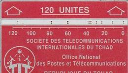REPUBLIQUE DU TCHAD  120 UNITES    DOS VIERGE - Chad