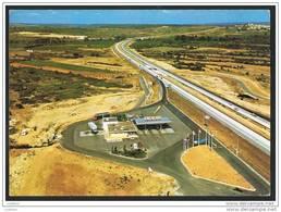 GALLARGUES - Vue Aerienne Sur L' Autoroute A9 A Espagne - Gas Station Truck - Highway Autostrada FRANCE - Frankreich