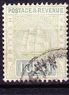 "Britisch-Guayana - Fregatte ""Sandbach"" (MiNr: 82b) 1902 - Gest Used Obl - British Guiana (...-1966)"
