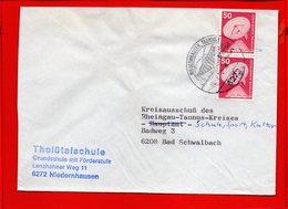 ALLEMAGNE, RFA, Lettre De Niedernhausen - [7] République Fédérale