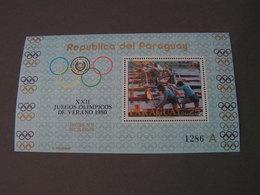 Paraguway Olympic  1980 Block    ** MNH - Kuwait