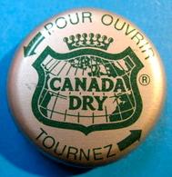 CAPSULE CANADA DRY POUR OUVRIR TOURNEZ - Soda
