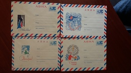 Russia 1967  Stamped Stationery. Happy New Year. - 1960-69