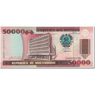 Billet, Mozambique, 50,000 Meticais, 1993, Undated (1993), KM:138, NEUF - Mozambique