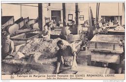 Lier Lierre Salle Des Malaxages Kneedkamer Fabrique De Margarine Societe Anonyme Des Usines Raymakers Belgica - Lier
