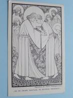 NA DE ZWARE DAGTAAK, DE EEUWIGE VREDEKUS ( Missie : Paters Redemptoristen ) Anno 19?? ( Zie Foto's ) - Missions