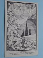 JEZUS ROEPENDE OVER DE KRISTENE LANDEN OM WERKLIEDEN ....... ( Missie : Paters Redemptoristen ) Anno 19?? ( Zie Foto's ) - Missions
