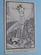 KRISTUS BLOED BEVRUCHTIGT DE LASTIG GETROKKENE VOOR ....... ( Missie : Paters Redemptoristen ) Anno 19?? ( Zie Foto's ) - Missions