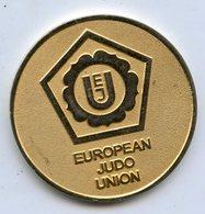 EUROPEAN JUDO UNION Medal Medaille - Martial Arts