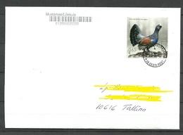 ESTLAND ESTONIA 2018 Inlandbrief Domestic Letter Bird Vogel D. Jahres - Estonia