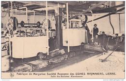 Lier Lierre Salles Des Barattes Karnkamer Fabrique De Margarine Societe Anonyme Des Usines Raymakers Belgica - Lier