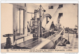 Lier Lierre Salle Des Machines Machienkamer Fabrique De Margarine Societe Anonyme Des Usines Raymakers Belgica - Lier