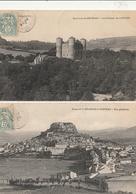 SEVERAC Le CHATEAU - 2 CPA : Vue Générale - Château De Loupiac - Altri Comuni