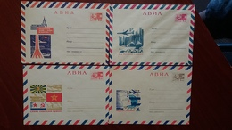 Russia 1968  Stamped Stationery. Avia Covers - 1960-69