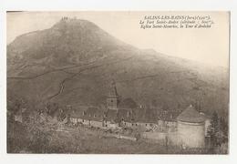 39 Salins Les Bains, Le Fort Saint André (3080) L300 - France
