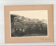 VILLEFRANCHE SUR MER (06) PHOTO ANCIENNE VUE PARTIE DU CENTRE ET EGLISE - Places