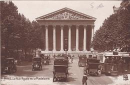 PARIS  LA RUE ROYALE ET LA MADELEINE - Non Classificati