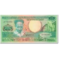 Billet, Surinam, 25 Gulden, 1988, 1988-01-09, KM:132b, NEUF - Surinam