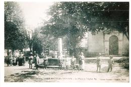 26 Saint Maurice D'Hostun, La Place Et L'église. VOIR DESCRIPTION (3084) L300 - France