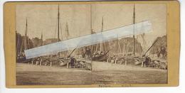 PAYS BAS NEDERLAND AMSTERDAM HAARLEM Circa 1865 PHOTO STEREO /FREE SHIPPING REGISTERED - Photos Stéréoscopiques