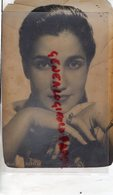 ACTRICE CINEMA -LEILA FARIDA- RARE PHOTO ORIGINALE DEDICACEE AU BAR LE RUY BLAS PARIS RUE SAINTE ANNE- J. CHATELIN - Berühmtheiten