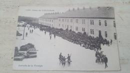 CPA 1499- CAMP DE VALDAHON- ARRIVEE DE LA TROUPE- - Non Classés
