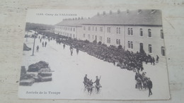 CPA 1499- CAMP DE VALDAHON- ARRIVEE DE LA TROUPE- - France