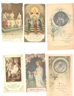 RELIGION - Lot De 14  Souvenirs De Communion,... De 1922 à 1952 - Images Pieuses - Devotieprenten