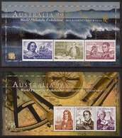 1999 - Australian NAVIGATORS Of AUSTRALIA (2) Minisheet Minature Sheet MNH - Blocks & Sheetlets