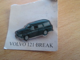 Pin1917 : Pin's Pins / RARE & BELLE QUALITE / THEME : AUTOMOBILE / VOLVO BREAK VERT - Volkswagen