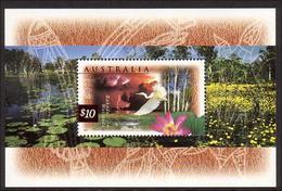 1997 - Australian Nature Of Australia WETLANDS Minisheet Minature Sheet Stamps MNH - Blocks & Sheetlets