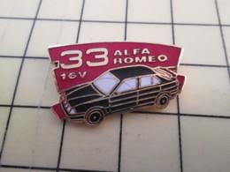 Pin1717 : Pin's Pins / RARE & BELLE QUALITE / THEME : AUTOMOBILE / ALFA ROMEO 33 16V - Alfa Romeo