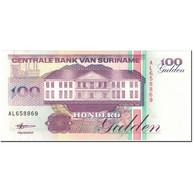 Billet, Surinam, 100 Gulden, 1998, 1998-02-10, KM:139b, NEUF - Surinam