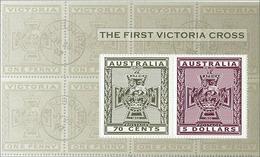 2015 - Australian THE FIRST VICTORIA CROSS Minisheet Minature Sheet Stamps MNH - Blocks & Sheetlets