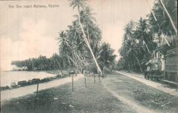 SRI LANKA THE SEA COST RAILWAY CEYLON PAS CIRCULEE - Sri Lanka (Ceylon)