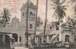 SRI LANKA MOHAMEDIAN MOSQUE COLOMCO PAS CIRCULEE - Sri Lanka (Ceylon)