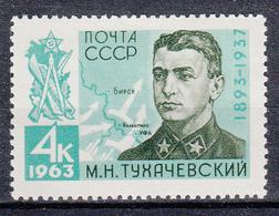 USSR - Michel - 1963 - Nr 2723 - MNH** - Ongebruikt