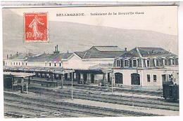 01 BELLEGARDE  INTERIEUR  DE LA NOUVELLE    GARE  TBE FO1054 - Bellegarde-sur-Valserine