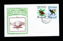 A5481) Neuseeland New Zealand Cover Birds Vögel 1966 - Vögel