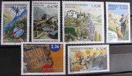 FD/2126 - 2003 - ANDORRE FR.- N°576 à 590 NEUFS** - Cote : 47,50 € ➜➜➜ PRIX DE DEPART A 10% DE LA COTE CATALOGUE - Andorre Français