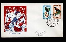 A5483) Neuseeland New Zealand Cover Birds Vögel 1962 - Vögel