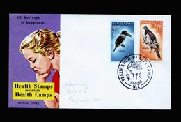 A5484) Neuseeland New Zealand Cover Birds Vögel 1960 - Vögel