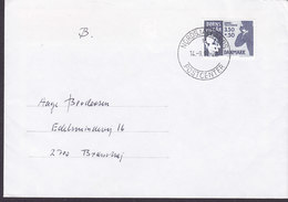 Denmark NORDSJÆLLANDS POSTCENTER 1992 Cover Brief BRØNSHØJ Denmark Childrens Terms Stamp - Dänemark